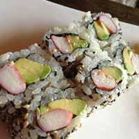 Alaska King Crab Sushi